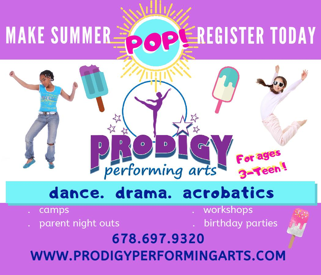 Camps - Prodigy Performing Arts
